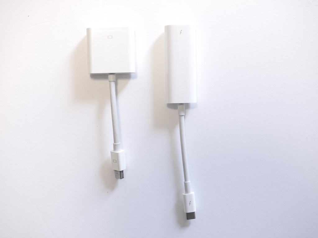 Mini DisplayPort - DVIアダプタとThunderbolt 3 - Thunderbolt 2アダプタ
