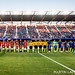 sfglensevolution posted a photo:	Manchester United and the San Jose Earthquakes observe a moment of silence before their match in memory of the Berkeley Tragedy victims in San Jose California on July 21, 2015. Photo: Martin Lacey