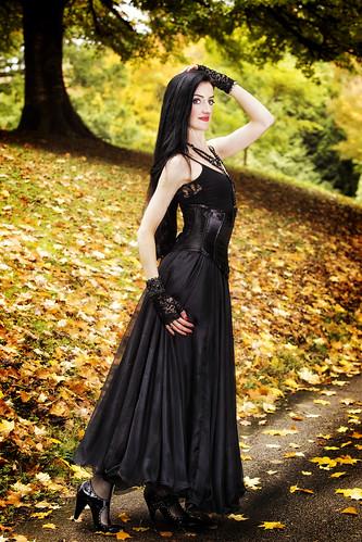 blackdress woman