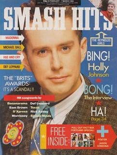 Smash Hits, February 22, 1989 – p.01