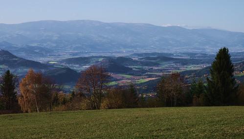 Down the Magdalensberg