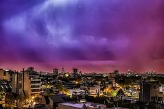 Lluvia y rayos II - Rain and lightnings II