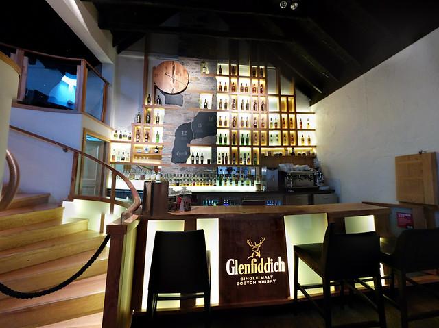 Glenfiddich bar