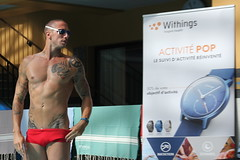 Withings à la piscine Molitor
