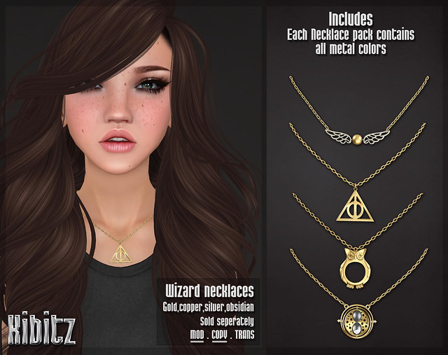 kibitz wizard necklaces