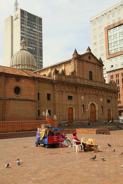 Iglesia de San Francisco.  Cali, Colombia.
