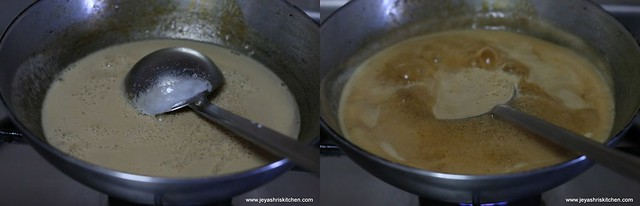 add thin coconut milk