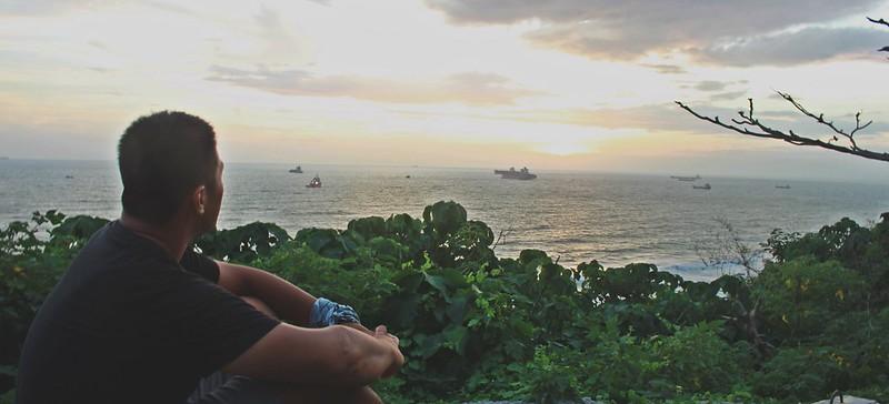 環島-西子灣-夕陽與猴子共舞 (33)