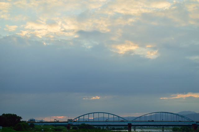 宮の陣橋 Miyanojin bridge