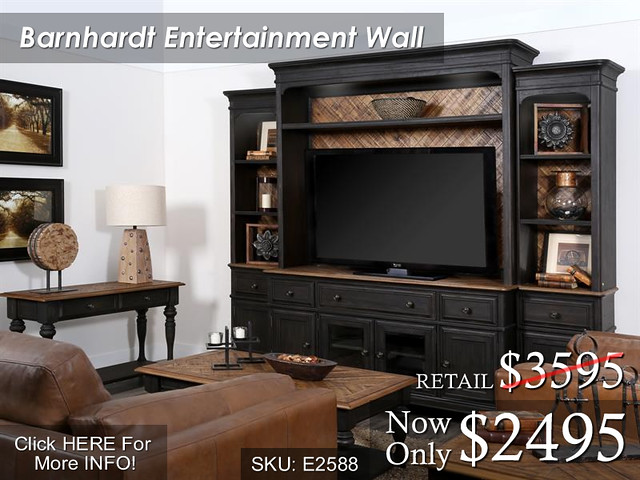 Barnhardt Entertainment Wall