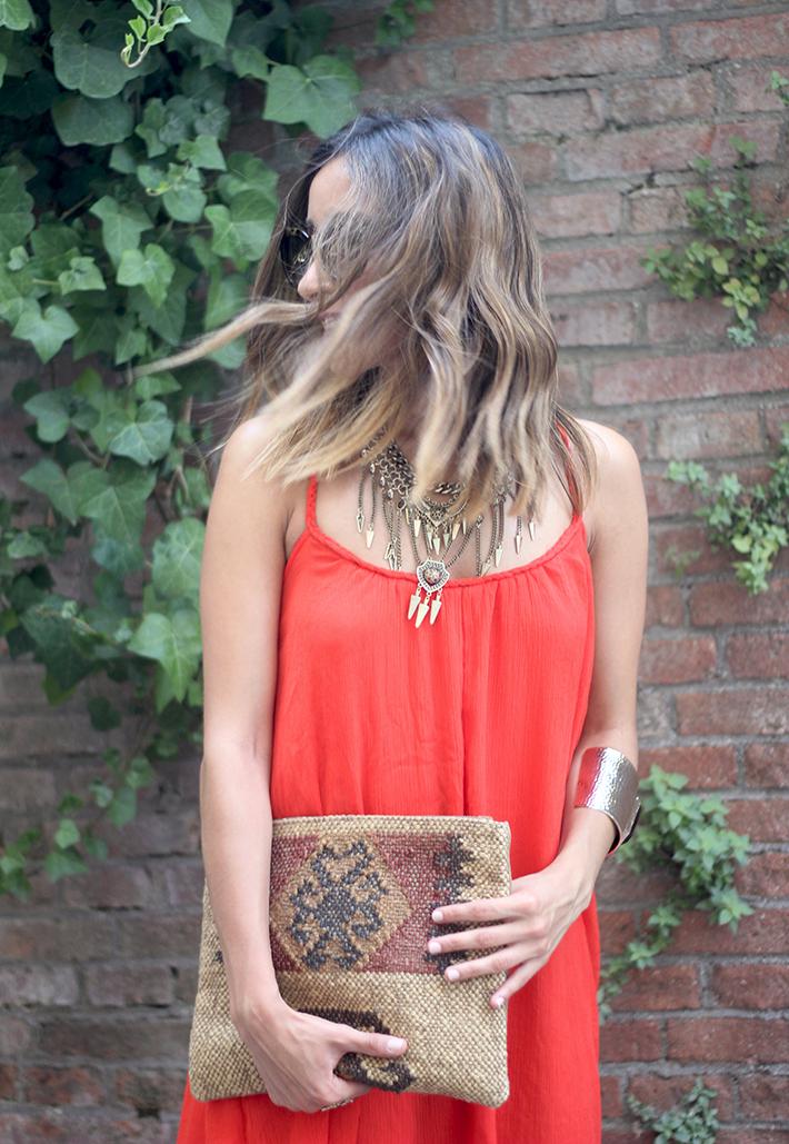 Red Maxi Dress04