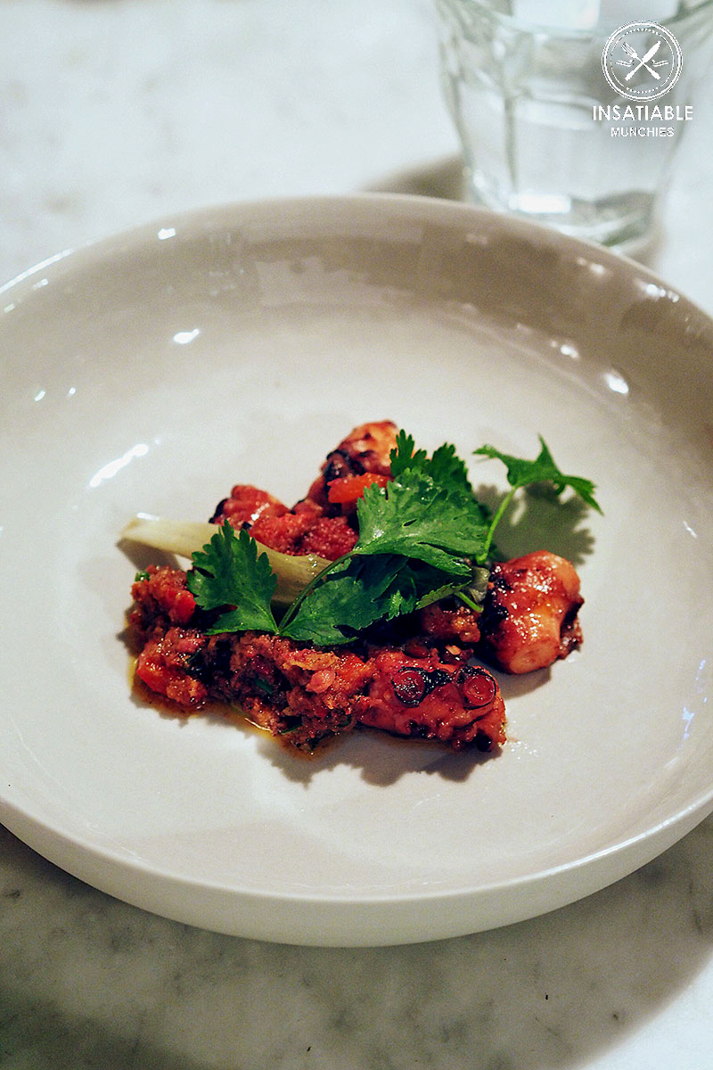 Sydney Food Blog Review of Luxe, Wollahra: Grilled Octopus with Chui's XO Sauce