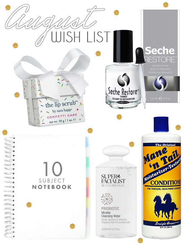 Beauty-Wish-List