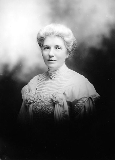 Kate Sheppard, the most prominent member of New Zealand's Women's Suffrage