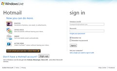 Guide Sign in Hotmail