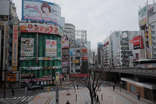 煩悩 [機材沼] : 新宿の朝(2)