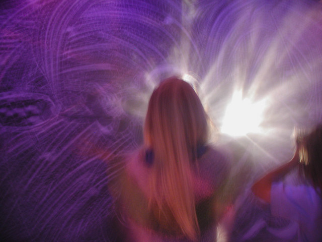 Olivia In Rave Room