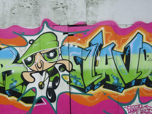 kiwi graffiti