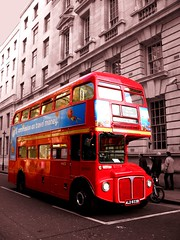One of the famous London double-deckers