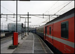 Early Railway Shots Series - Amsterdam CS, herfst 1988