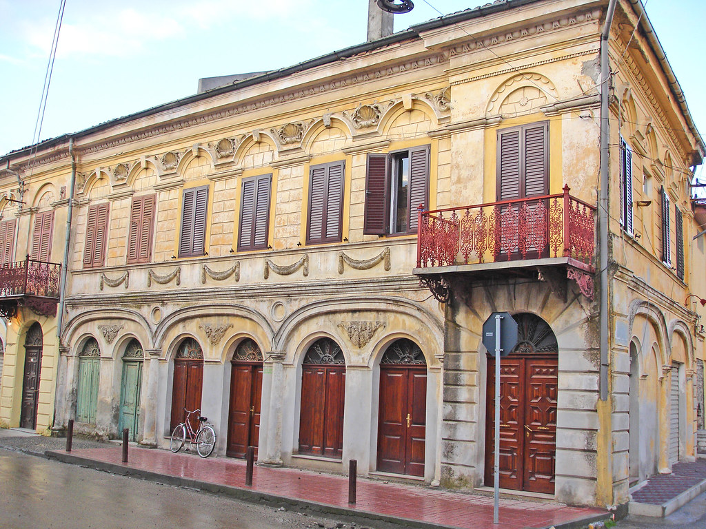 old venetian style house in shkoder albania flickr