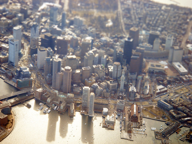 Flying Into Boston 005 - Tilt Shift v2