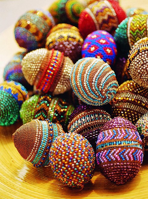 beaded easter eggs from all over the world a gallery on flickr. Black Bedroom Furniture Sets. Home Design Ideas