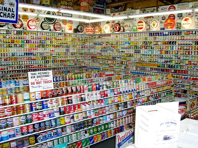 Man Cave Store North Bay : Vintage oil cans alphabetized flickr photo