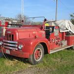 Old Wimer fire truck