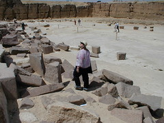 archaeology, ancient history, sand, rubble, ruins, geology, rock, quarry,