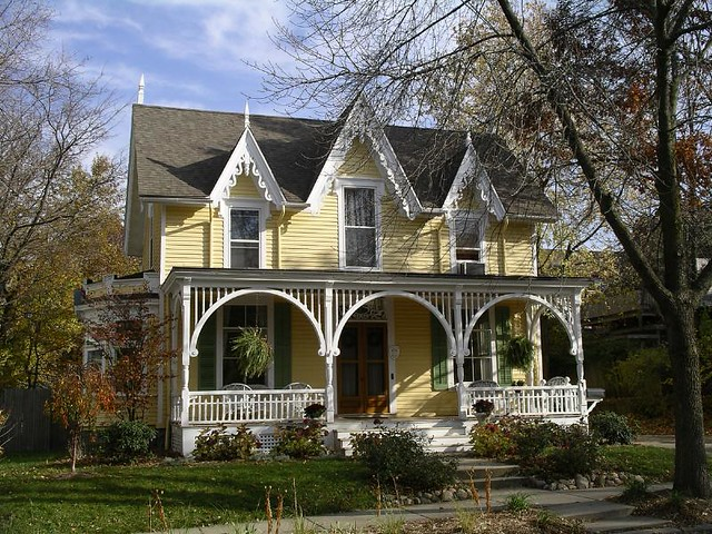 victorian gothic style house flickr photo sharing