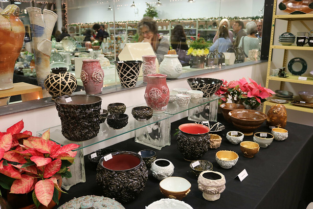 Ceramics Program Holiday Show and Sale 2016 Opening