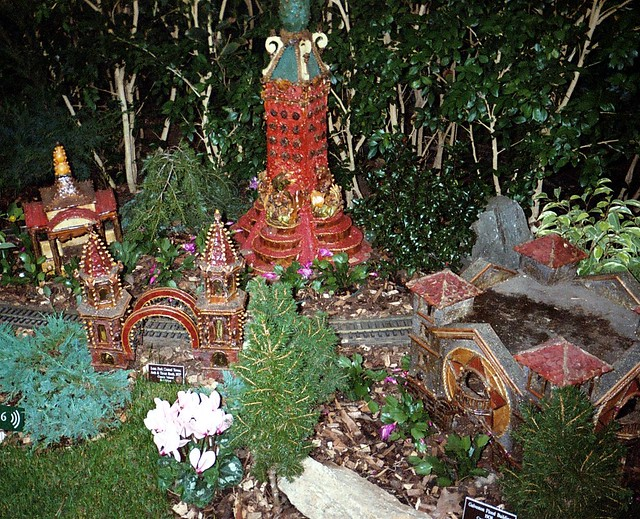 005 2a1 Bronx Botanical Gardens Holiday Train Show Flickr Photo Sharing