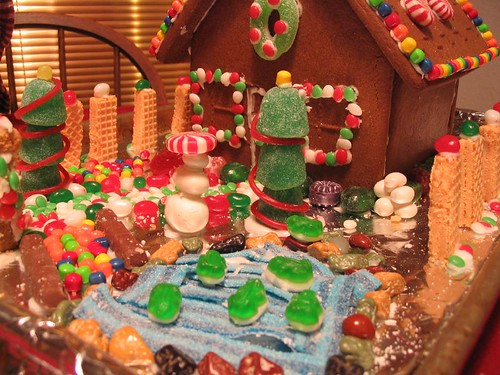 Wonderful Gingerbread House
