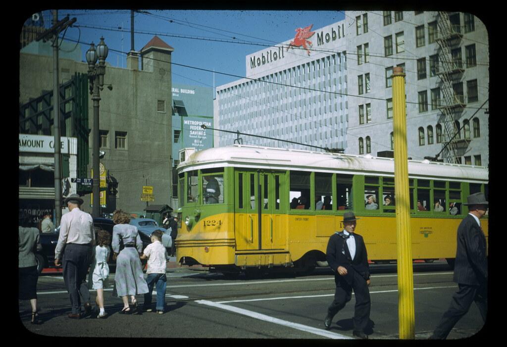 DOWNTOWN LA 1949