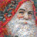 Mosaic Portrait: Father Christmas by krazydad / jbum