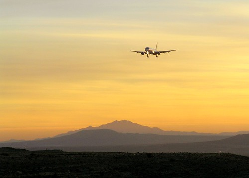 2005 sunset newmexico southwest topv111 airplane flying top20wings albuquerque landing sunport cdeii