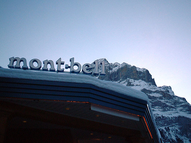 Mont-bell [Grindelwald / Swiss]
