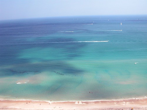 ocean sky beach clouds florida sharks imran imrananwar imrantv