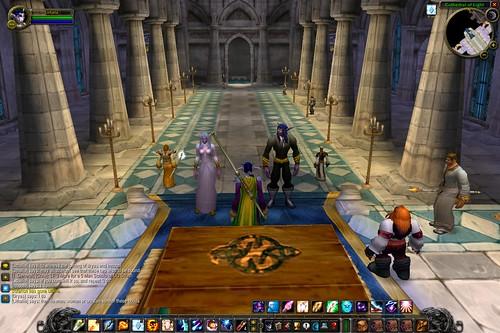 Warcraft wedding