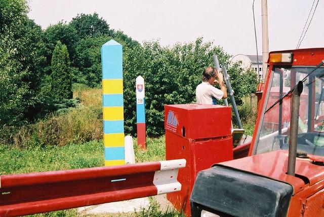 Ukraine - Slovakia border