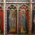 One half of the rood screen from Belaugh St. Peter