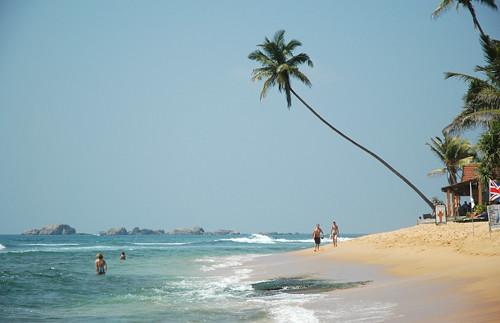 Narigama beach, Hikkaduwa, Sri Lanka