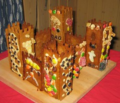 Ginger bread house 2005: Castle