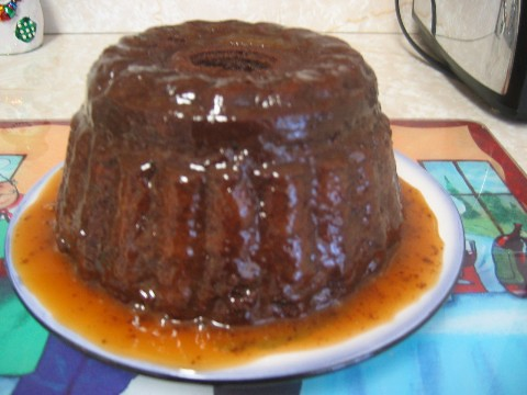 Steamed Chocolate Pudding with Caramel Sauce | Flickr - Photo Sharing!