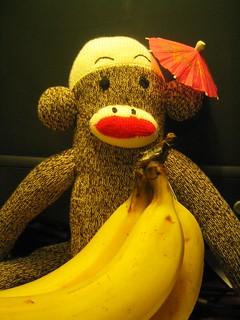 Monkey goes troppo