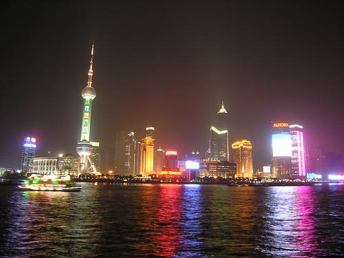 Shanghi At Night