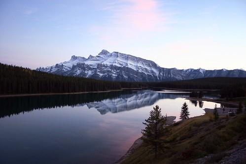 Two Jack Lake, Banff, AB, Canada
