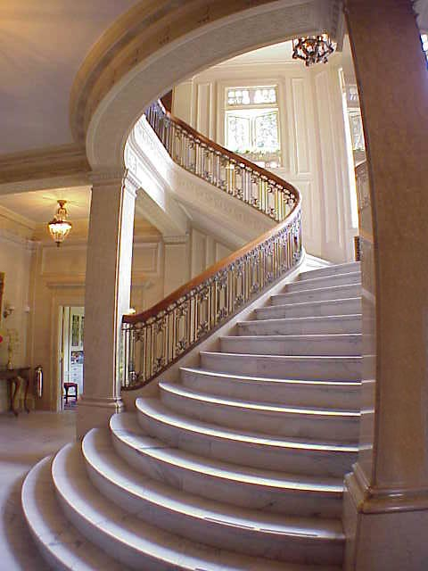 Pittock Mansion stairway Flickr Photo Sharing