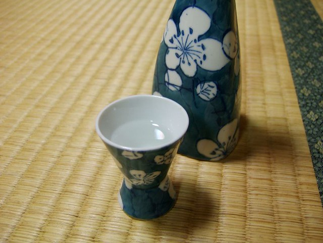 Sake and tatami 4